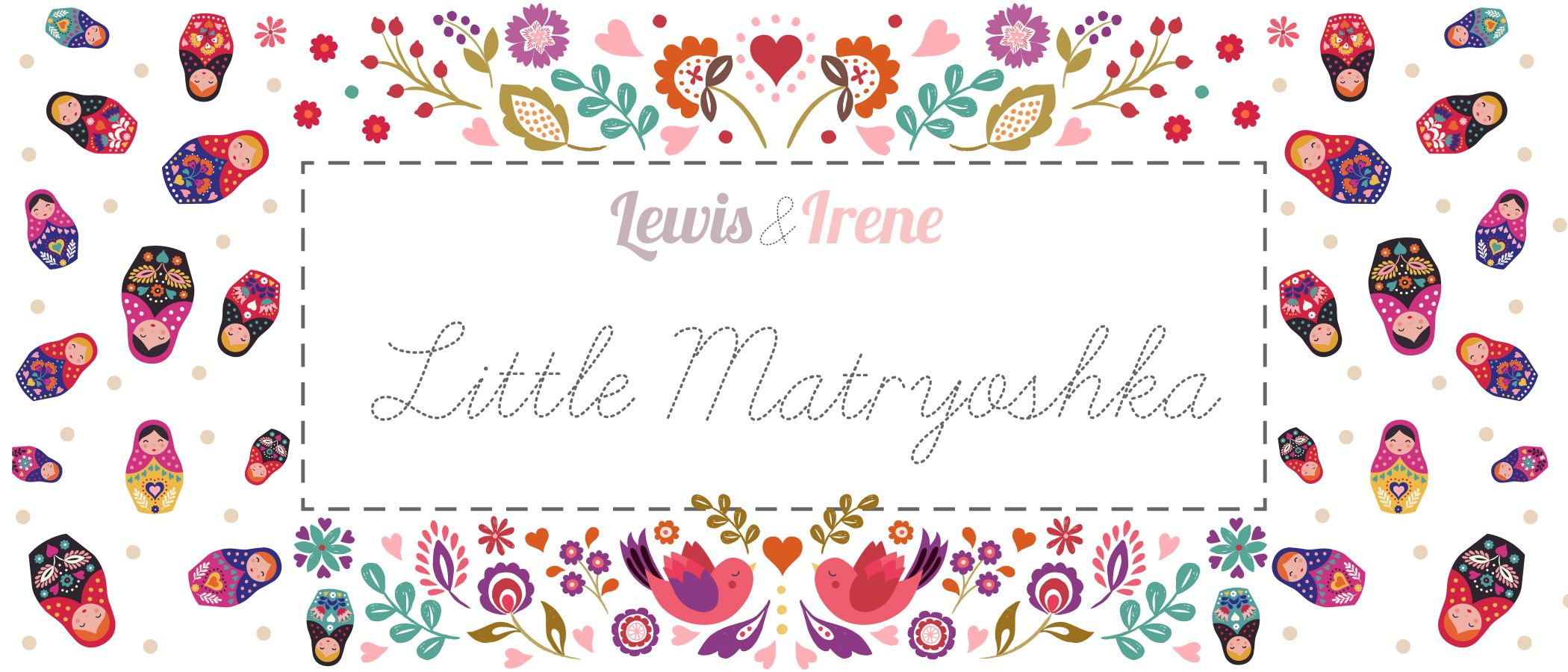Little Matryoshka graphic title