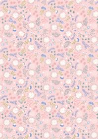 A310.1 Magical flowers on pink