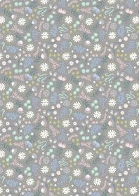 A310.2 Magical flowers on grey