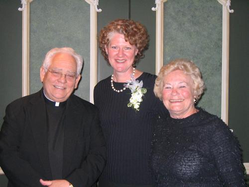 Monsignor Lewis, Michelle Silva, Anne Stahel