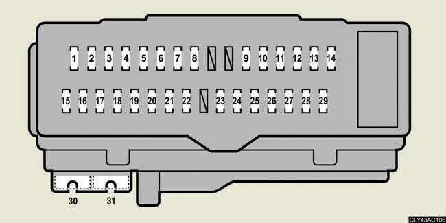 Fuse Box For Lexus Es350 Electronic Schematics collections