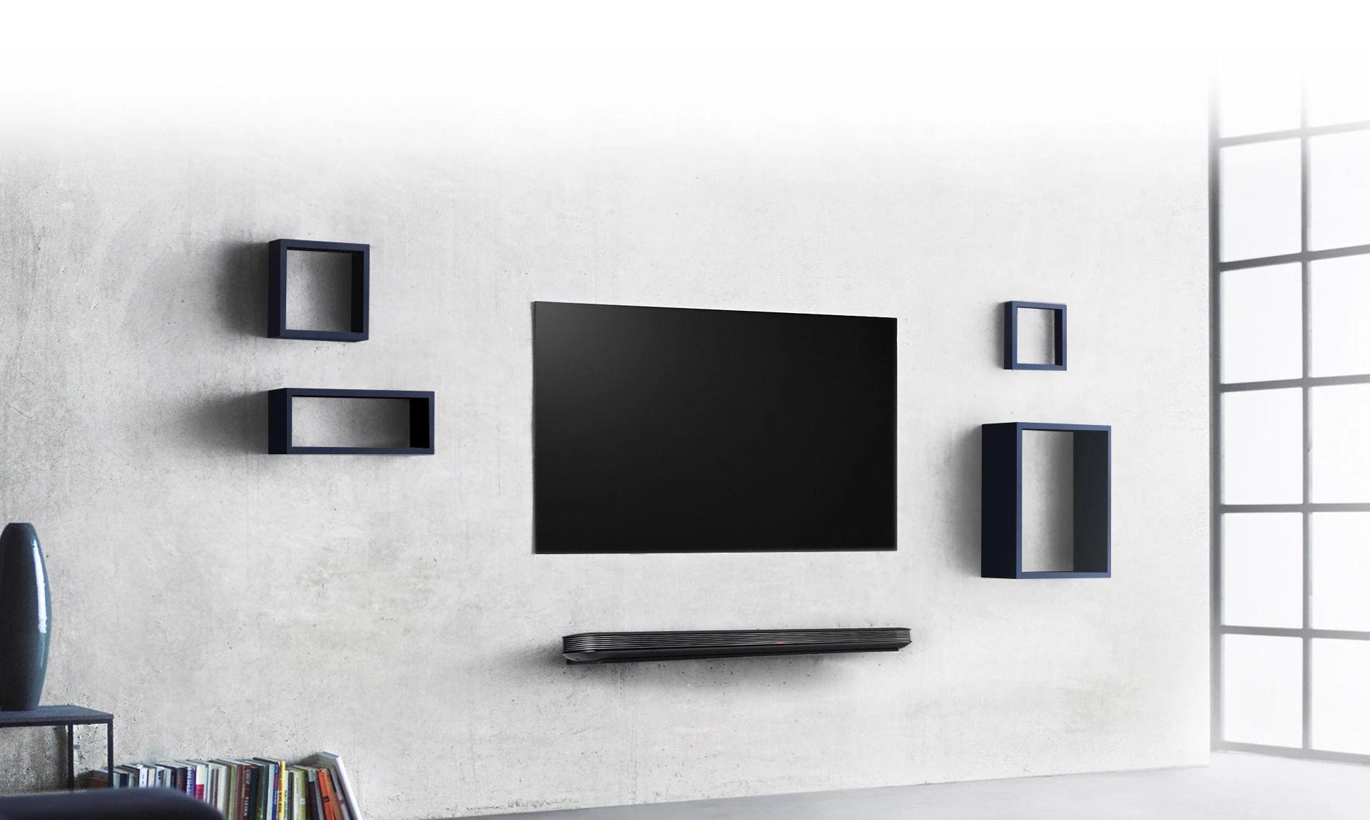 3d Wallpaper For Living Room Wall Lg Signature Wallpaper Oled Tv 65 Inch Lg Oled65w7t