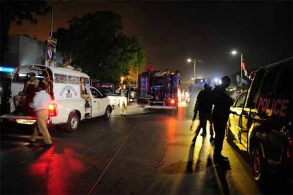 Terrorist attack at Karachi Airport leaves at least 28 dead