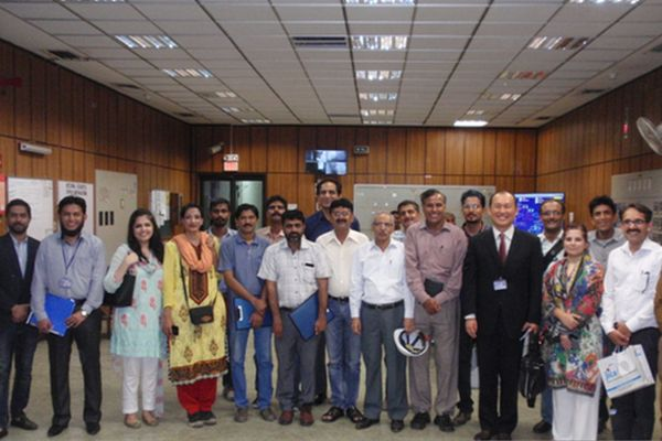 ODA Press tour with Consulate General and JICA