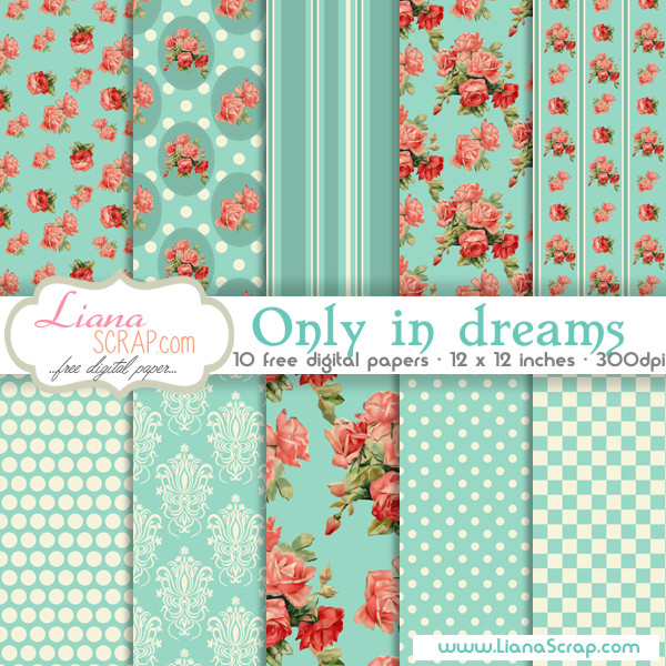 LianaScrap - Free Digital Paper Packs for Commercial and Personal Use