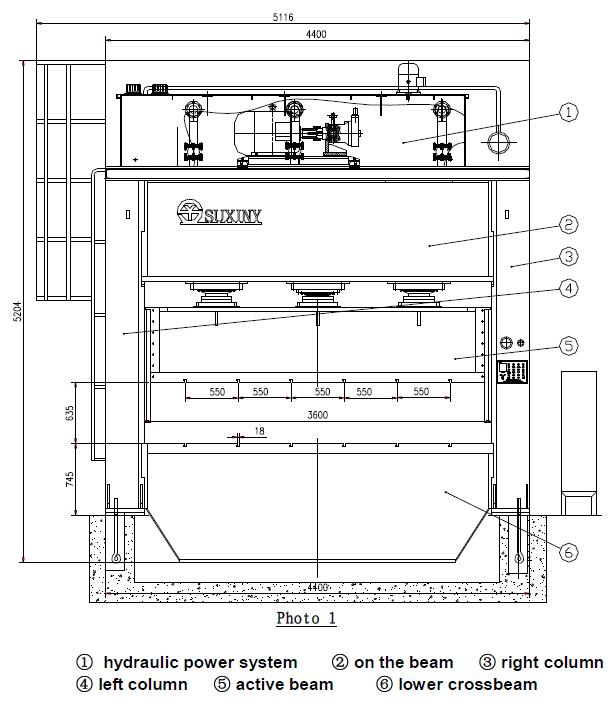 Hydraulic press of container \u2013 Guangzhou Lianli Machinery Co, Ltd