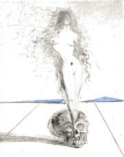 Death's Dead by Salvador Dalí (1968)