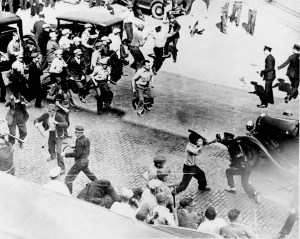Others were good at keeping employers and employees from killing each other. Francis Haas served as a federal mediator in the Minneapolis Truckers Strike of 1934. where 4 people died and 67 were injured in strike related violence.