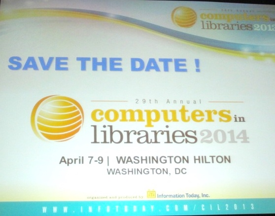 Save the Dates for CIL 2014