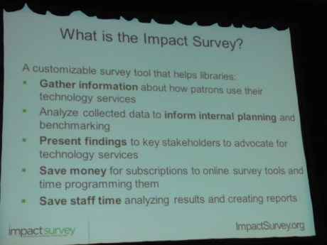 What is the Impact Survey?