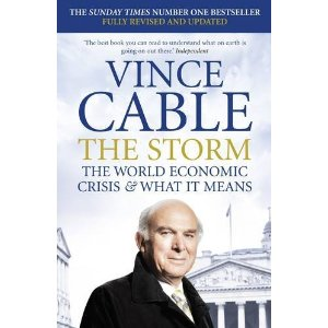 Vince Cable's The Storm: book cover