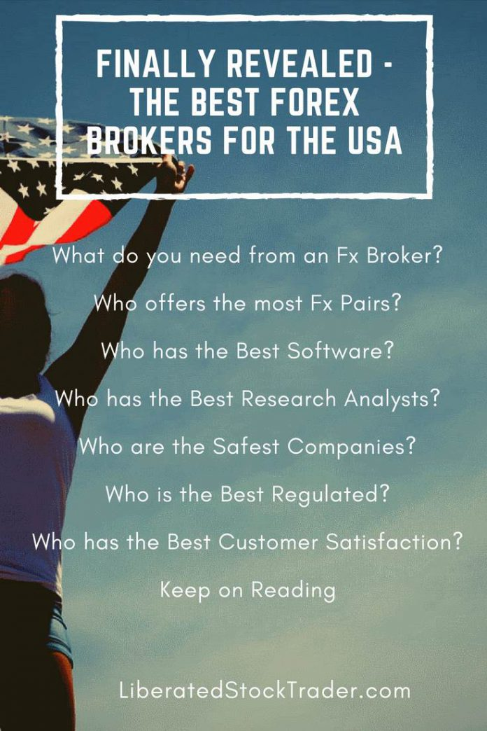 Top 5 Best Forex Brokers Accepting US Clients - 2018