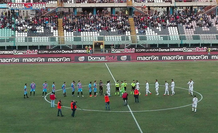 Catania-Catanzaro 3-1