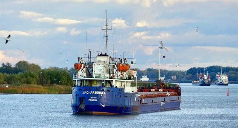 Nave cargo russa affonda nel Mar Nero