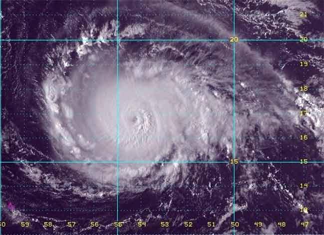 Uragano Irma diventa potente: minaccia per Caraibi e Stati Uniti