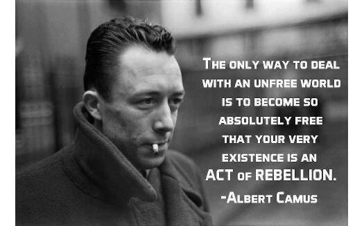 Political Rebellion Quotes Quote-albert-camus-rebellion
