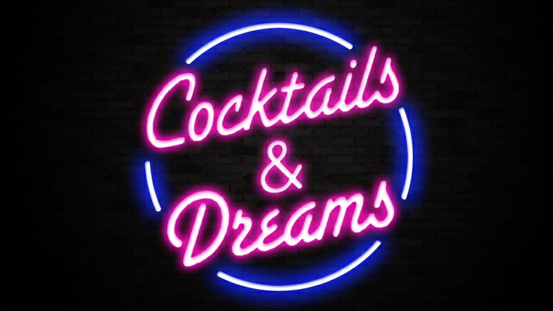 Cocktails  Dreams Sign Liberty Games