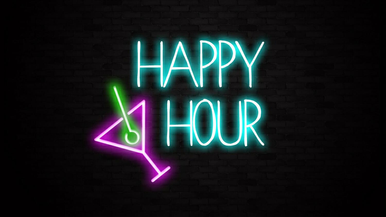 Happy Hour Bar Sign Liberty Games