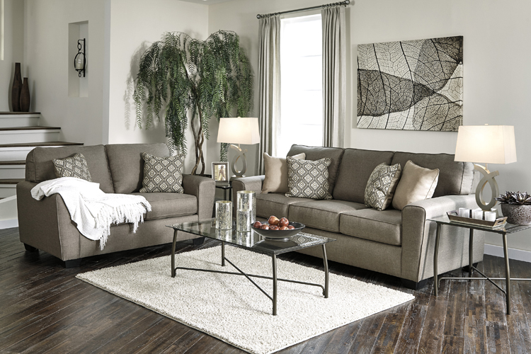 """Living Room Furniture Ashley Liberty Lagana Furniture in Meriden, CT: The """"Calicho: Cashmere"""" Living Room Collection by ..."""