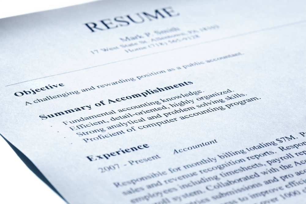 Make Sure This Part Of Your Resume Is Flawless - LIBGIG