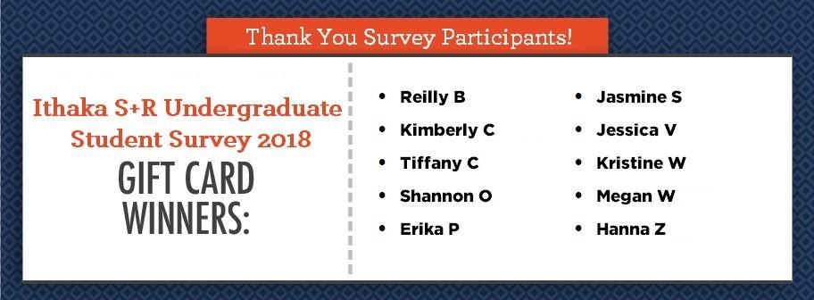 Ithaka S+R Undergraduate Survey FAQ \u2013 Staff Website \u2013 U of I Library