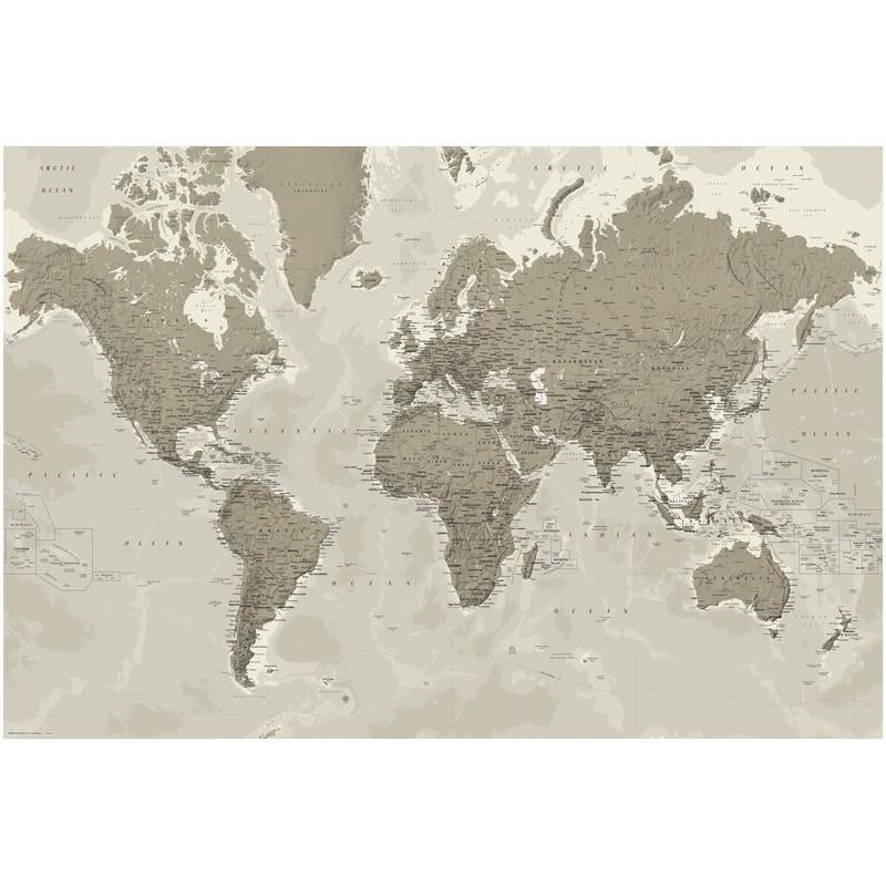 Il Mondo - Planisfero Design Libreria Geografica - cartina mondo