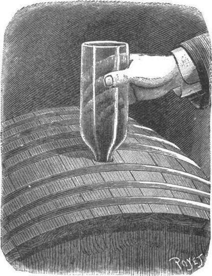 La barrica y la botella o el bodeguero automático