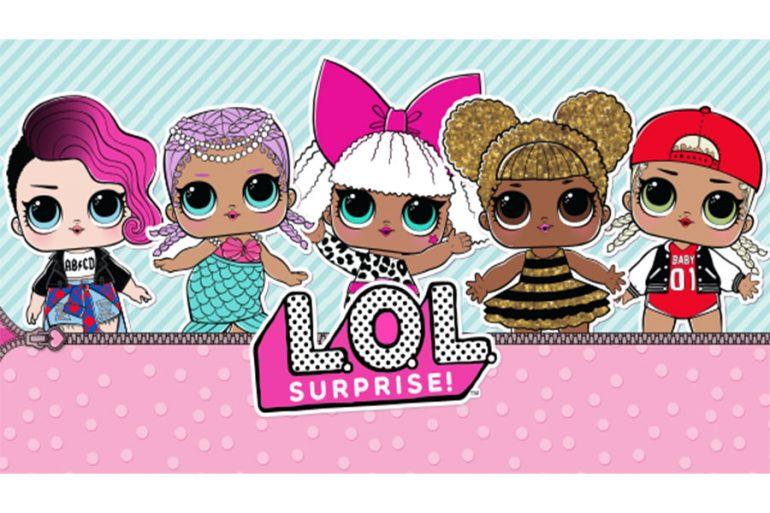 L O L Surprise Stickers App Licensing Magazine