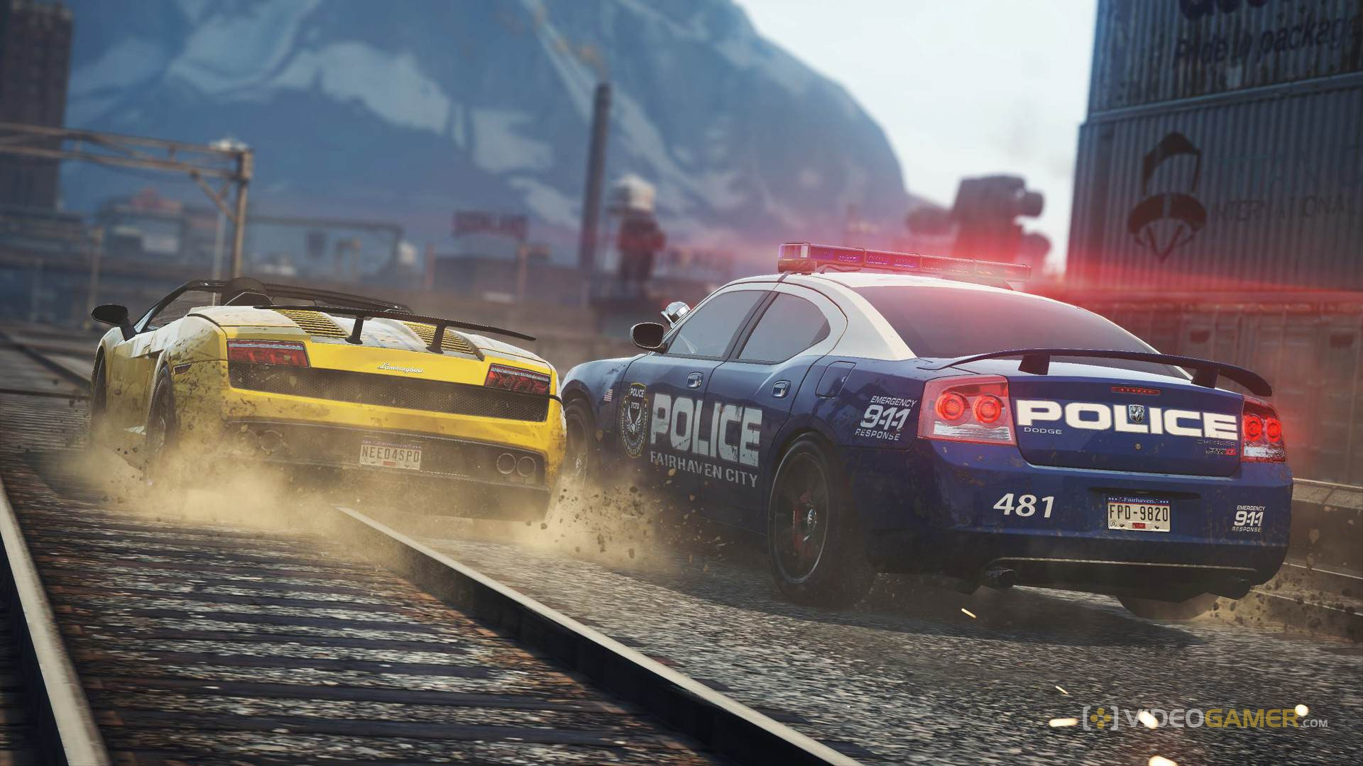 Car Chase Wallpaper Hd Need For Speed Most Wanted