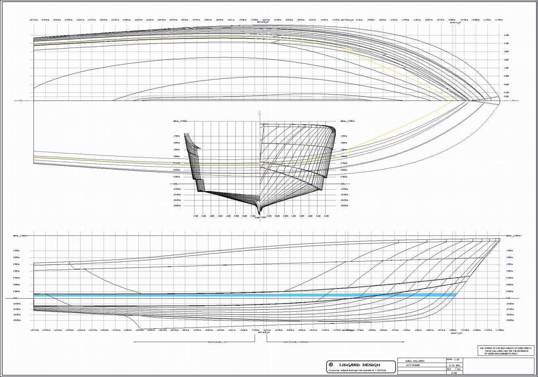Monohull Powerboat Designs By Lidgard Yacht Design