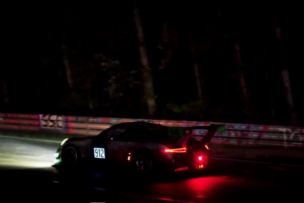 The Manthey Racing team at the Nürburgring 24H 2016