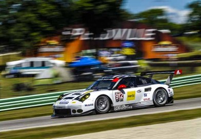 Porsche fields two 911 RSR on the Virginia International Raceway