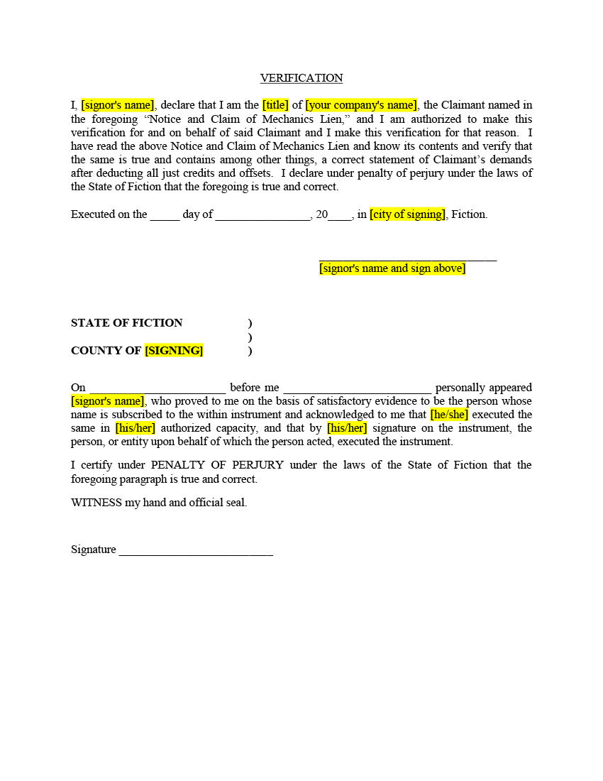 Tax Lien Wikipedia Texas Mechanic Lien Kit Filing And Release Of Lien Forms