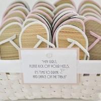 Flip Flops für die Hochzeitsgäste