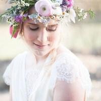 Eine Blumenkrone im Sonnenlicht von Fräulein Wunschfrei