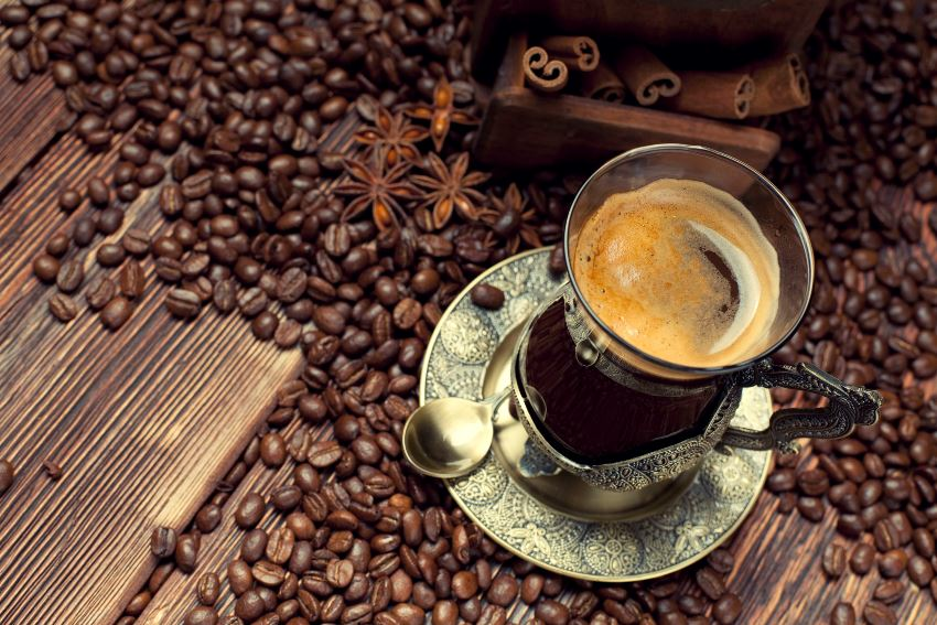 drink your coffee