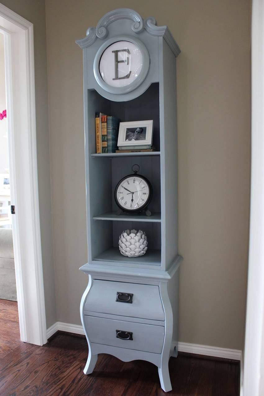 02-DIY Bookcase Clock