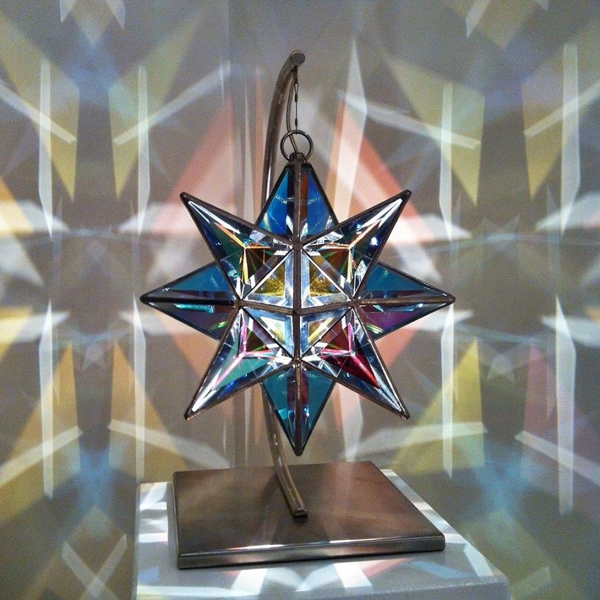2 Glass Lamps-Zakay Glass