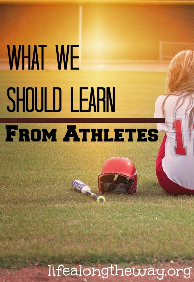 what we should learn from athletes