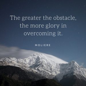 the greatest obstacles