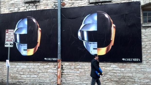 Carteleras de Daft Punk en el SXSW 2013