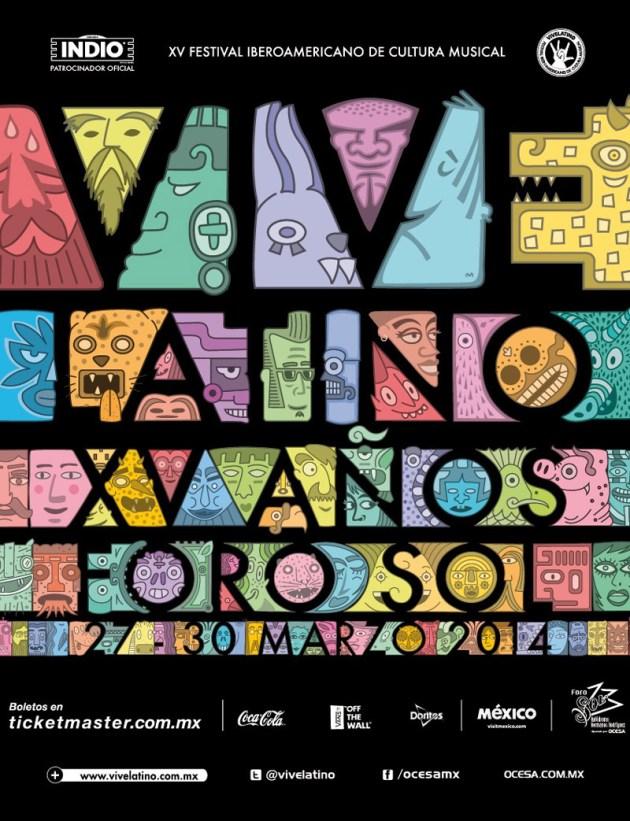 Vive Latino 2014.