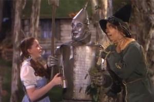 Escena de la película 'El Mago de Oz'.