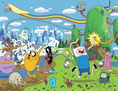 ¡Llegará una nueva mini-serie de Adventure Time de 8 capítulos!