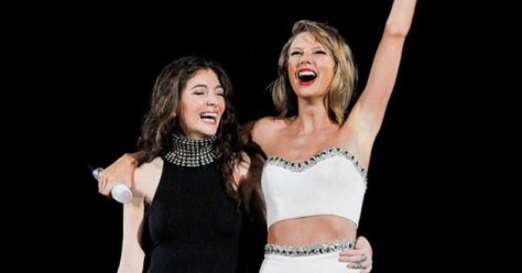Taylor Swift Lorde