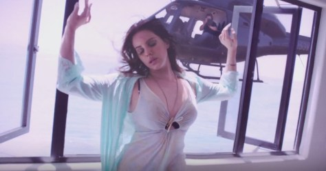 Lana Del Rey High By The Beach Video