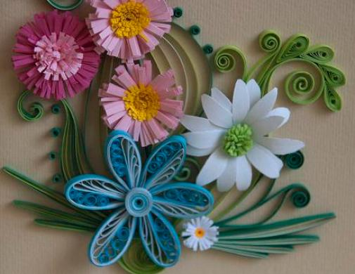 floral-quilling
