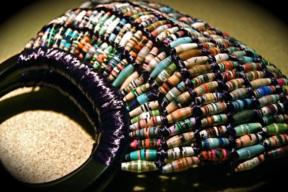 paper bead purse designs and ideas by vicki dehne