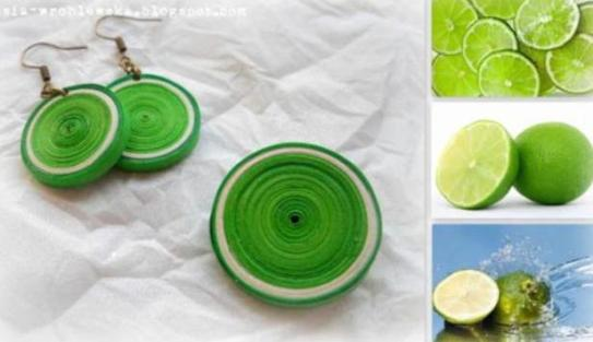 quilling-fruits