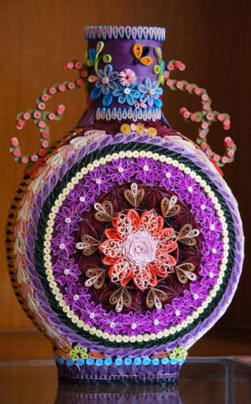 paper-quilling-vase